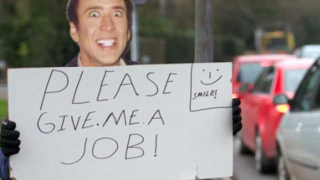 job applicant sends pic of nic cage instead of cv hexjam