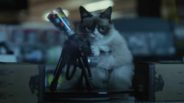 Watch the Grumpy Cat Christmas film trailer | Hexjam