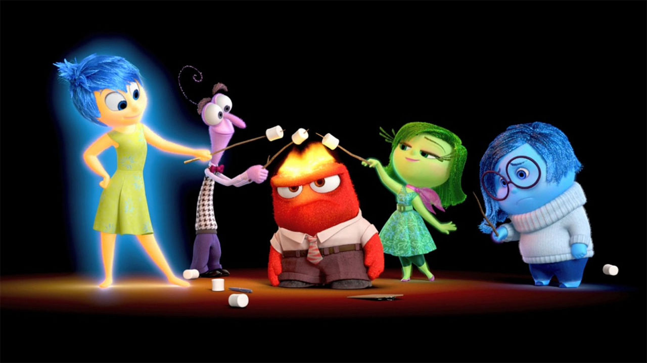 Disney coloring inside out - Disney Coloring Inside Out 84