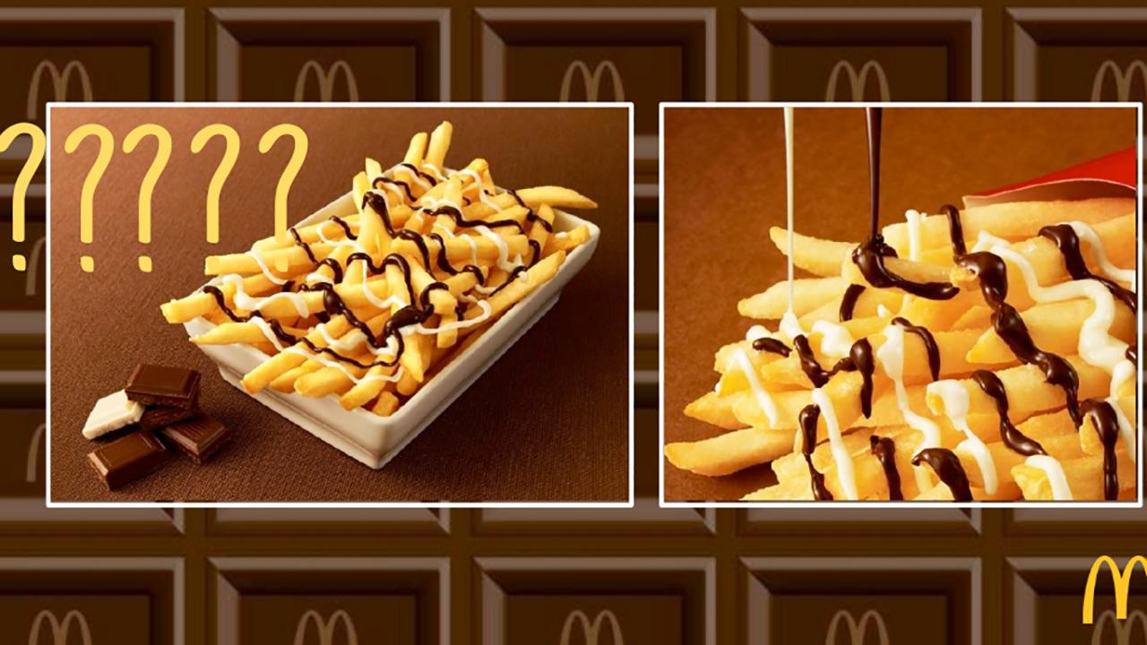 Chocolate covered chips headed to McDonalds | Hexjam