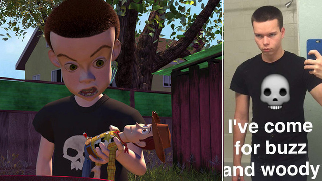 Evil Sid from Toy Story has a real lookalike   schtv.ru
