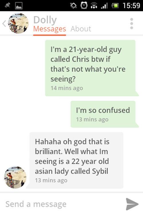 Tinder conversation