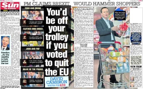 The Sun page