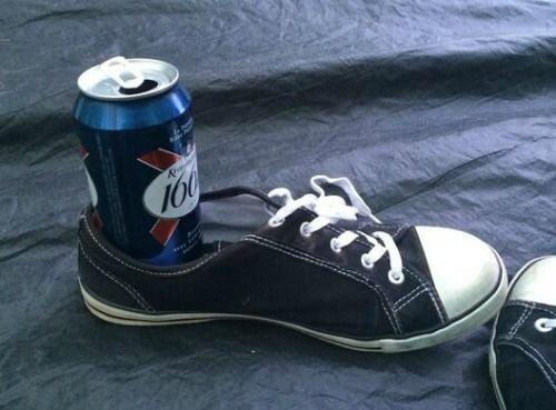 beer shoe